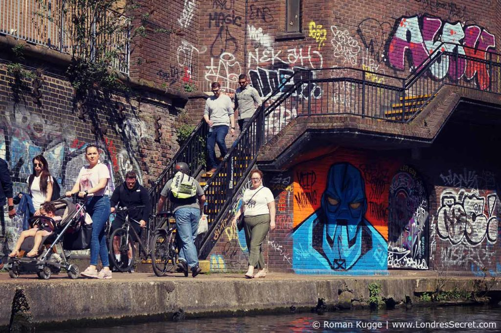 Camden Town Londres Canaux