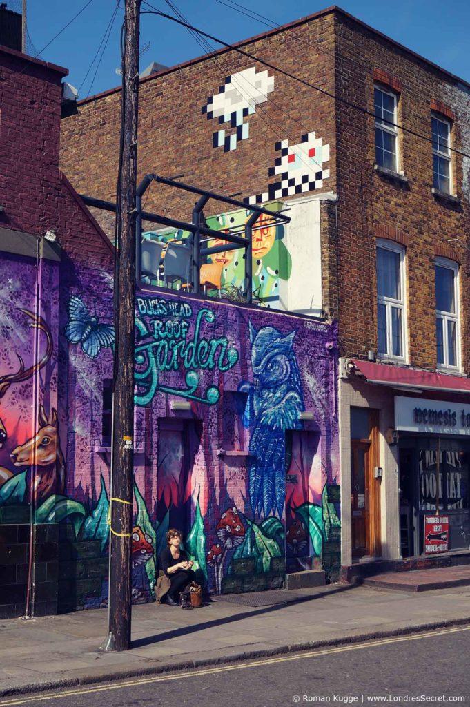 Camden Town Londres Street Art Graffiti