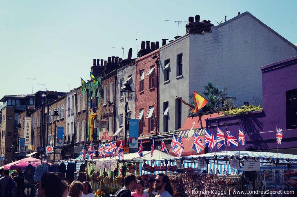 Camden Town Londres Inverness Street Market (2)