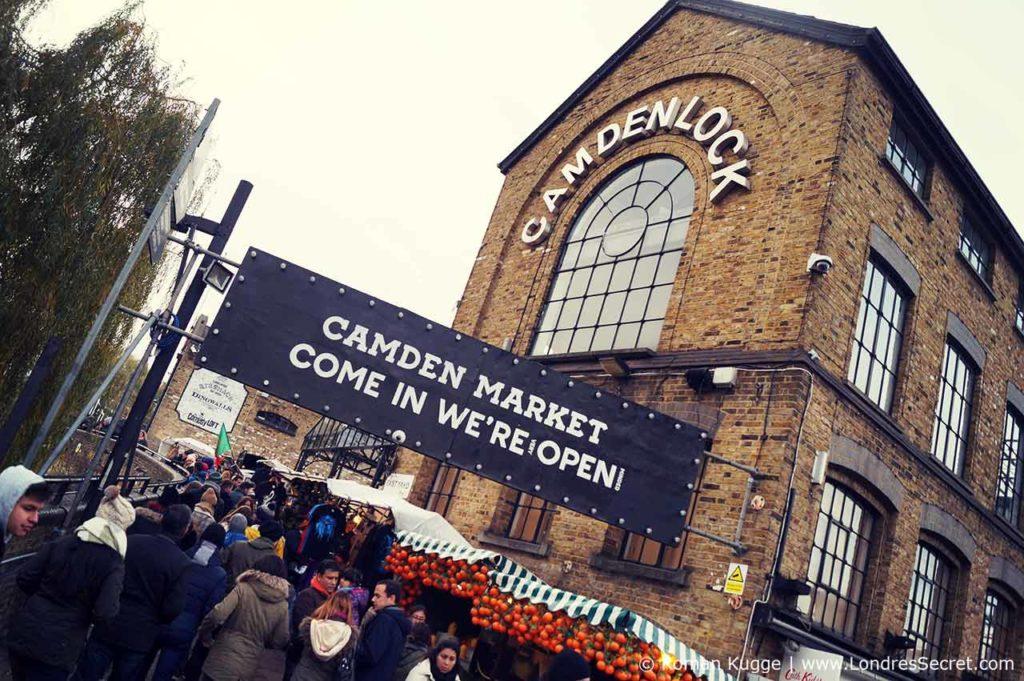Camden Town Londres Marché Camden Lock Market