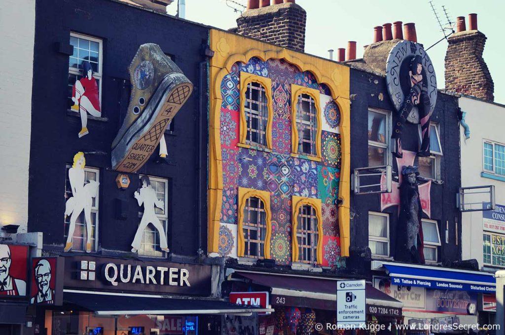 Camden Town Londres Rue Principale Camden High Street Boutiques (2)