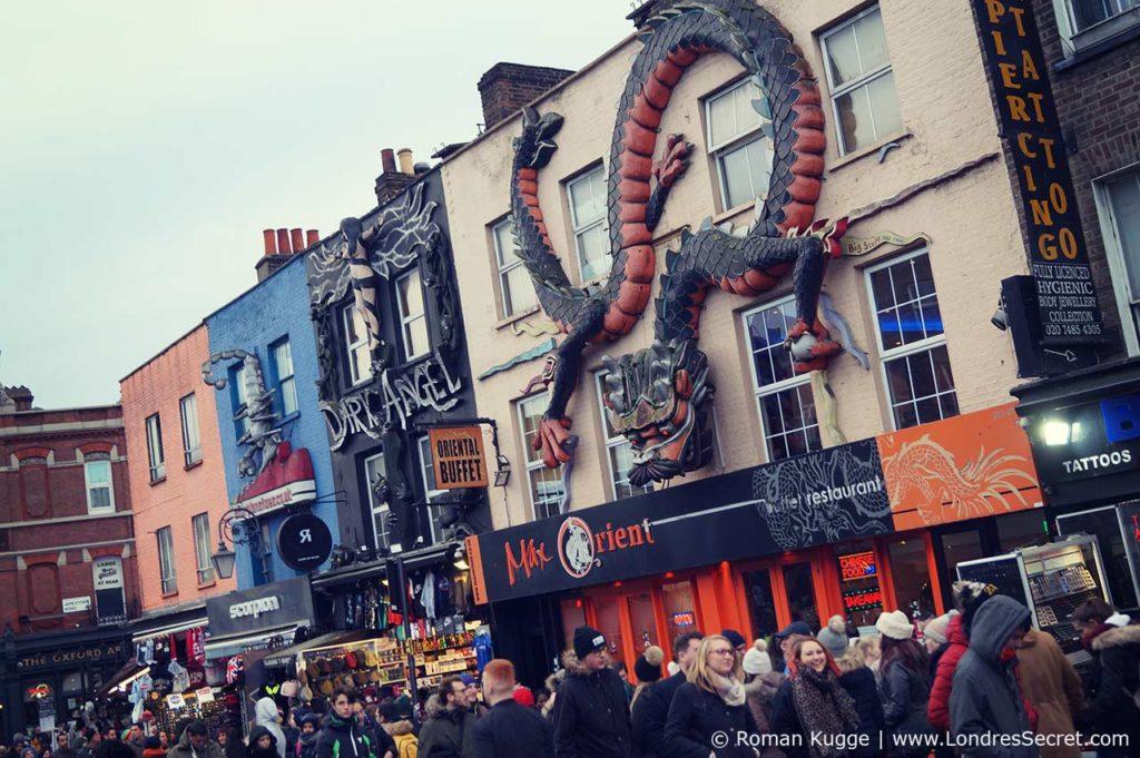 Camden Town Londres Rue Principale Camden High Street Boutiques (4)