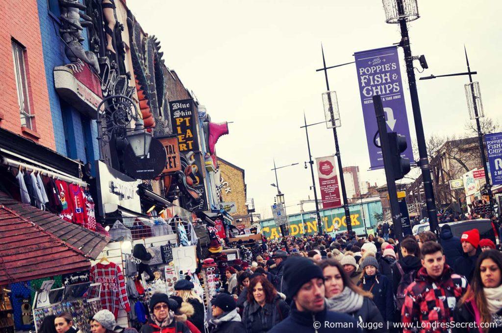 Camden Town Londres Rue Principale Camden High Street Boutiques (5)