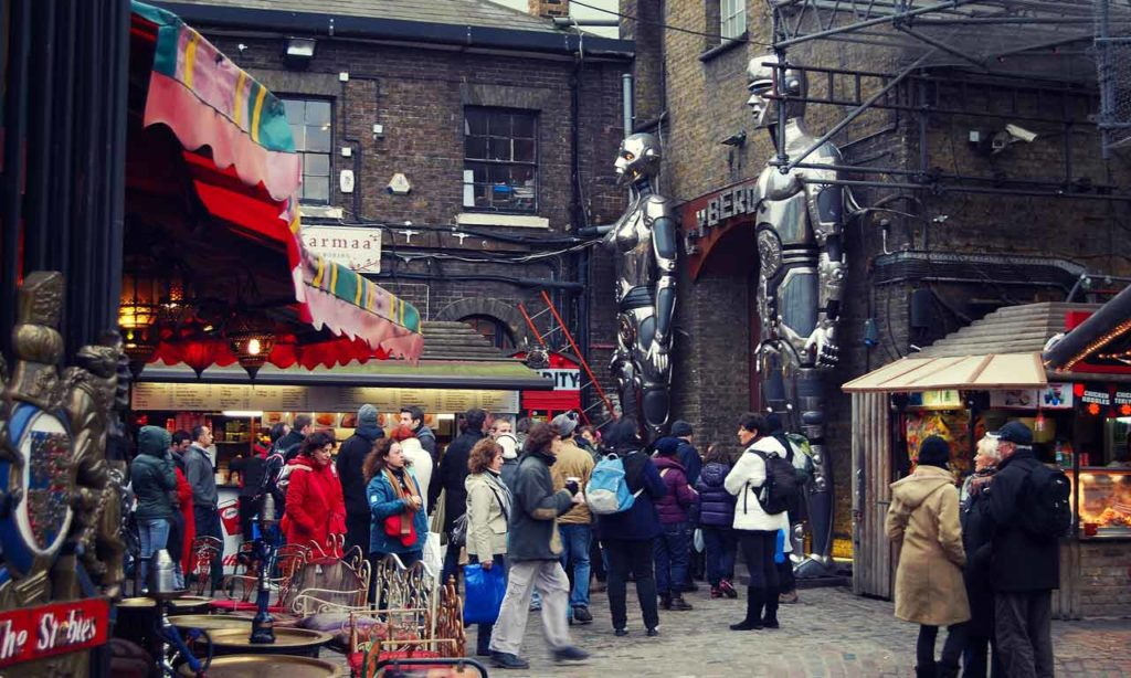 Camden Town Londres Stables Market