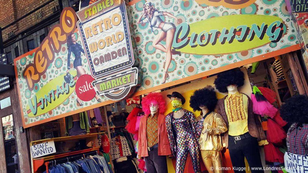 Camden Town Londres Stables Market