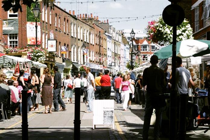 Exmouth Market Marché Londres