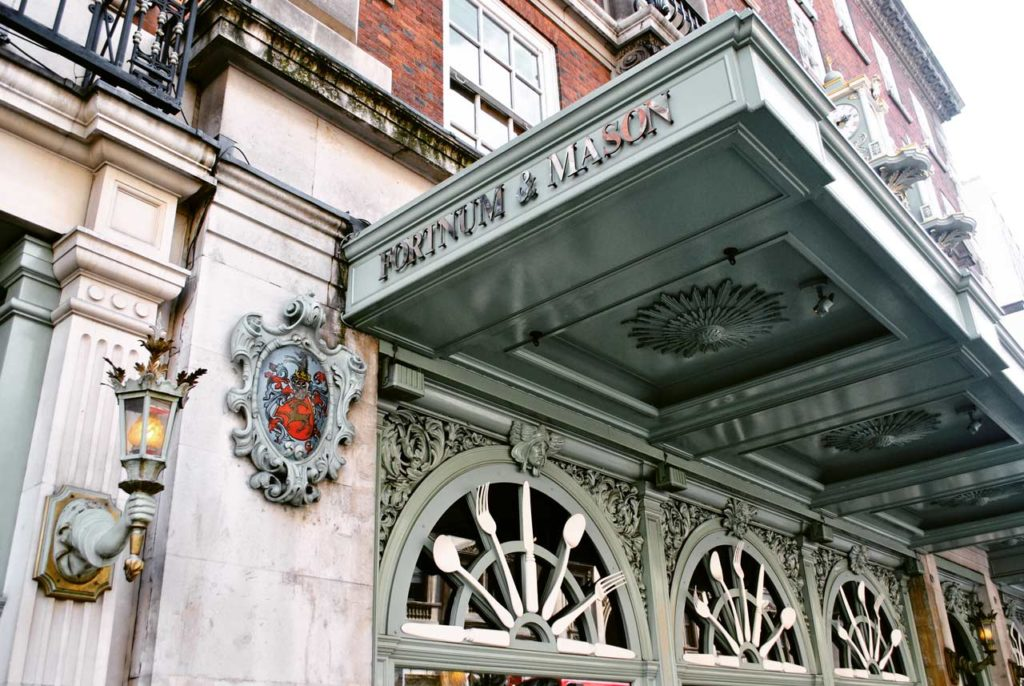 Fortnum and Mason Grand Magasin Londres