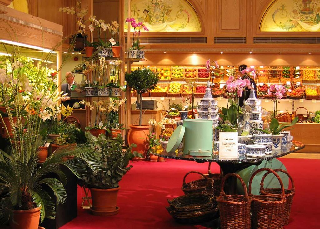 Grand Magasin Fortnum and Mason Londres