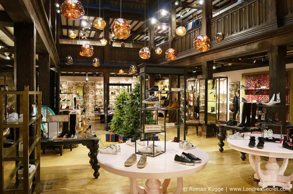 Grand Magasin Liberty Londres Noel (3)