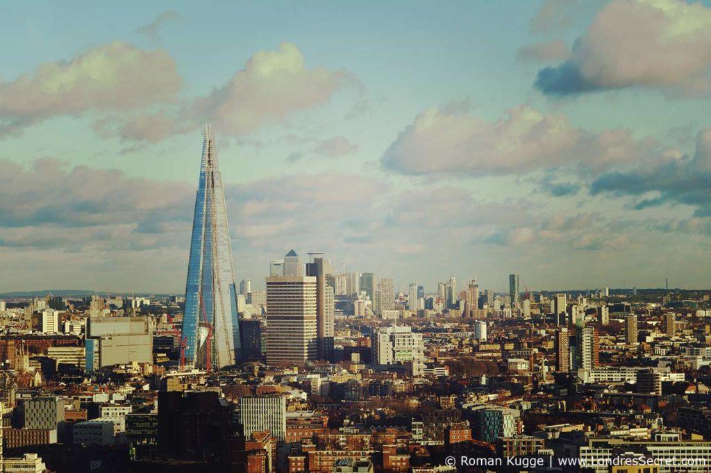London Eye Grande Roue Londres Vue