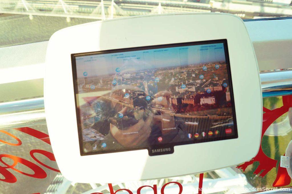 London Eye Grande Roue Londres tablette