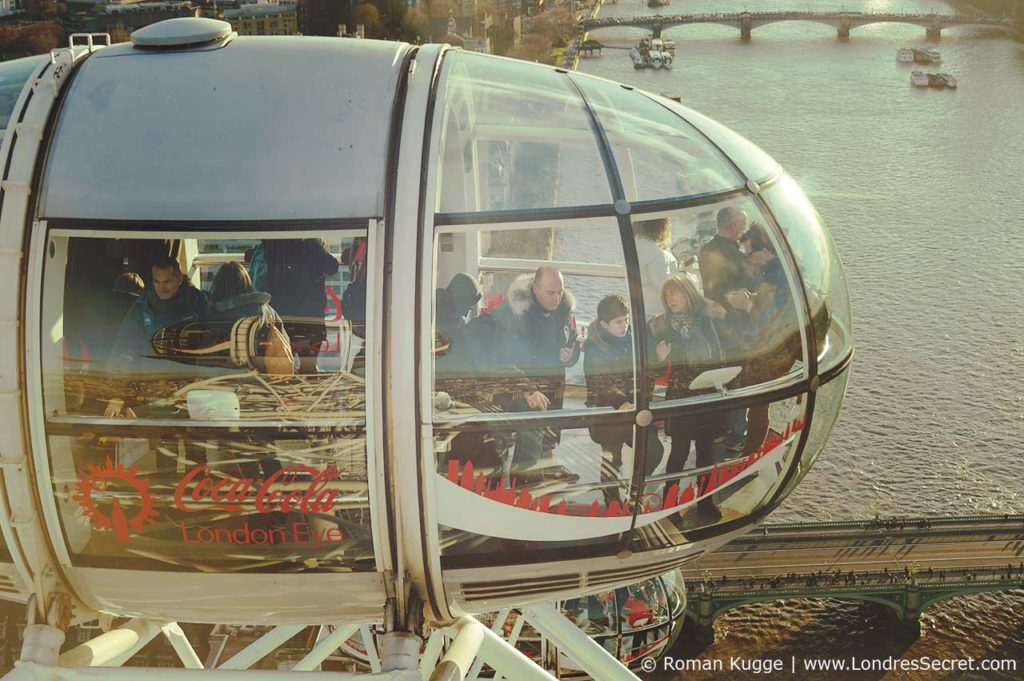 London Eye Grande Roue Londres Capsule