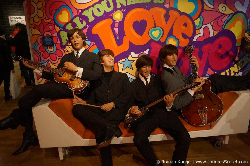 Madame Tussauds Londres Beatles