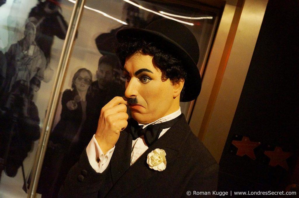 Madame Tussauds Londres Charlie Chaplin
