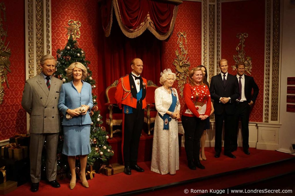 Madame Tussauds Londres Famille Royale