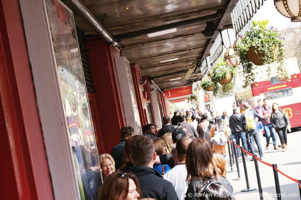 Madame Tussauds Londres File Temps d'Attente