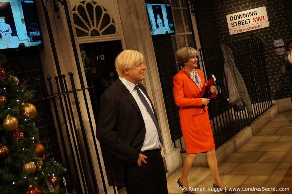 Madame Tussauds Londres Theresa May