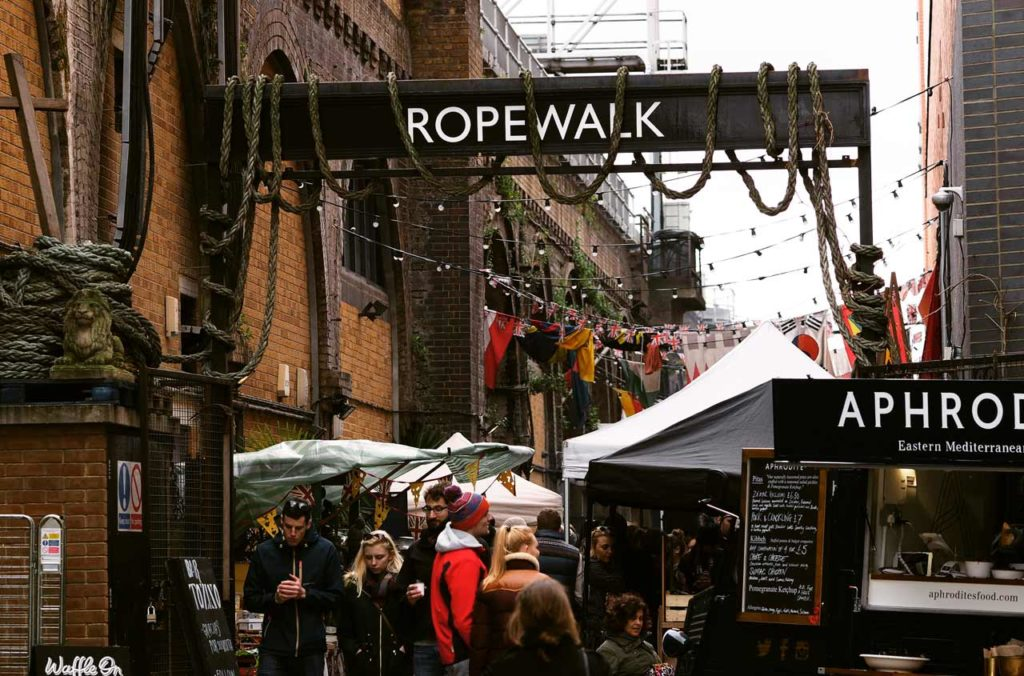 Maltby Street Market Marché Londres