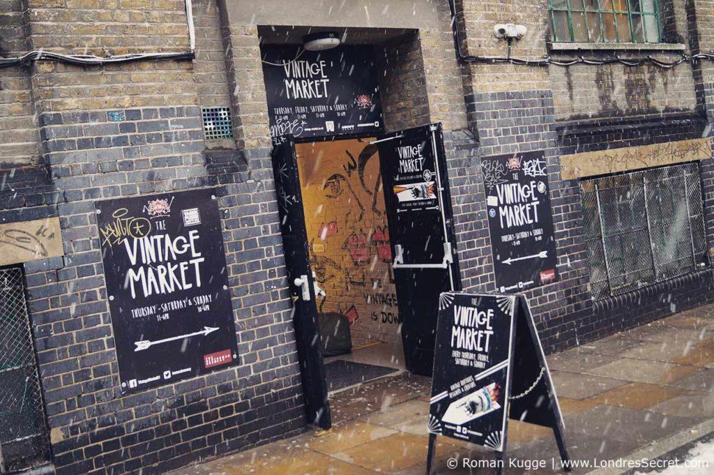 Marché Brick Lane Market Londres Vintage Market