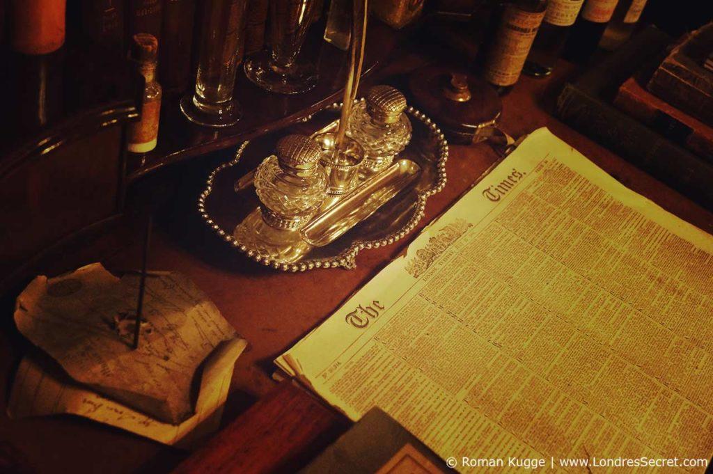 Musée Sherlock Holmes Londres