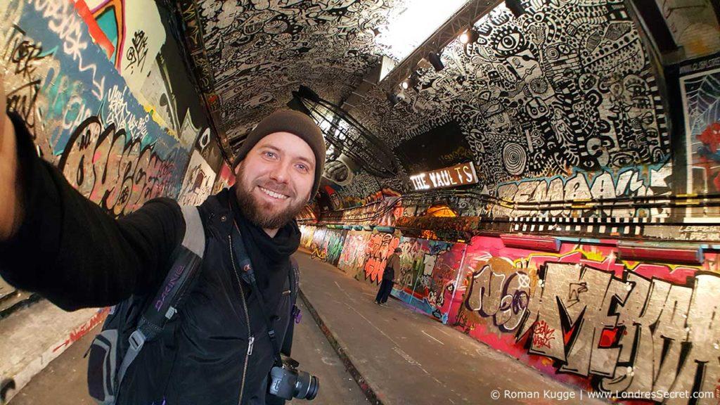 Roman Kugge Londres Tunnel Graffiti The Vaults