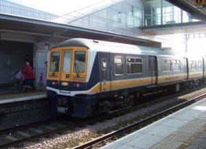 Train Londres London Southend