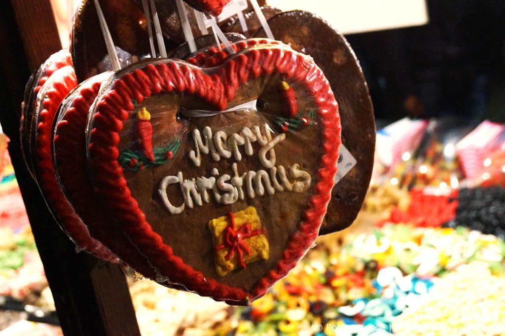 Leicester Square Londres Marche de Noel