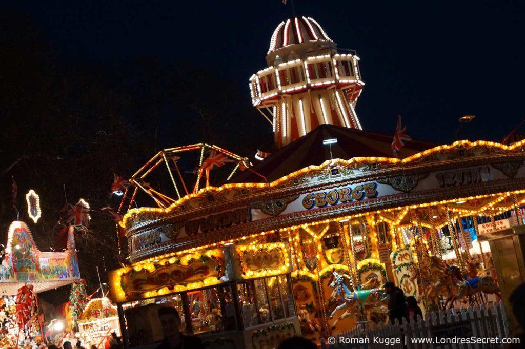 Winter Wonderland Londres Marche et Foire de Noel