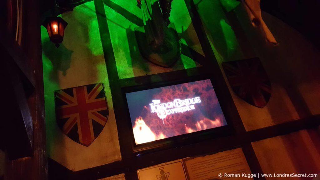 London Bridge Experience & Tombs attraction maison hantée Londres