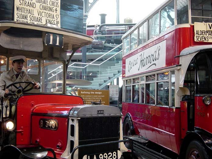 London Transport Museum Londres