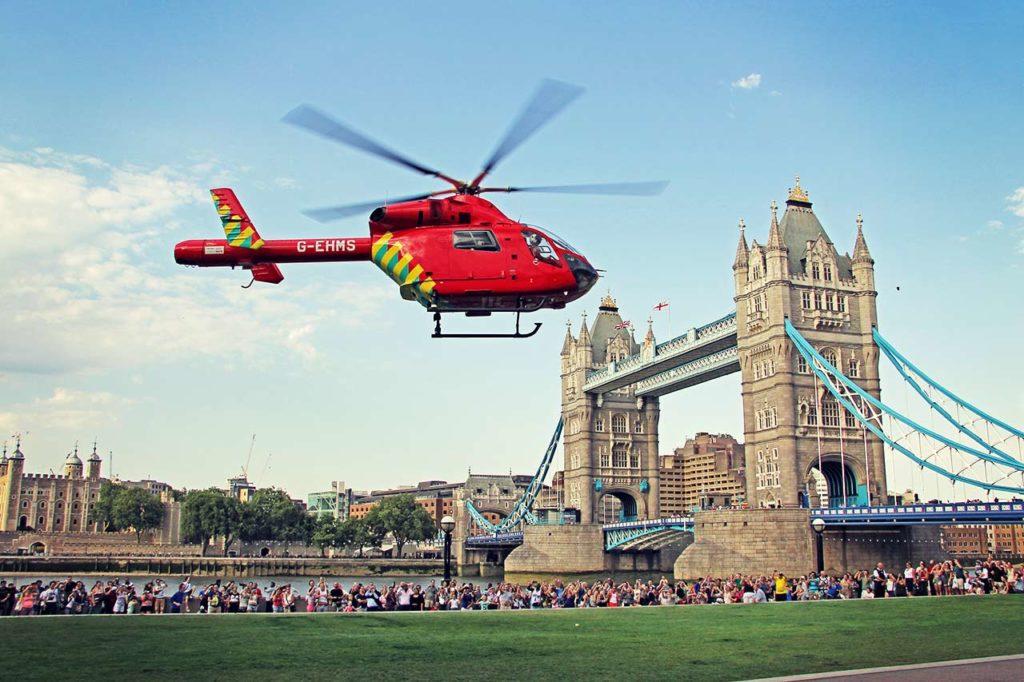 Londres en hélicoptère