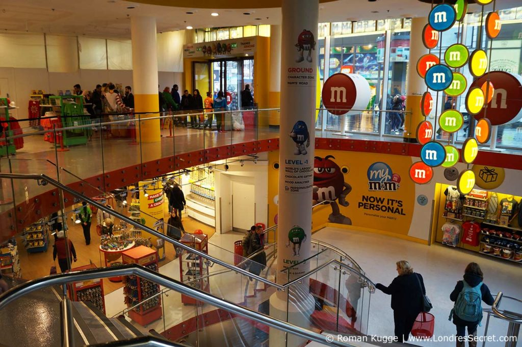 Magasin M&Ms World Londres