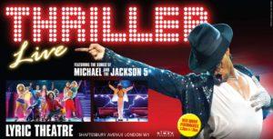 Thriller comédie musicale Londres