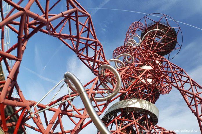 Tour ArcelorMittal Orbit Londres Toboggan