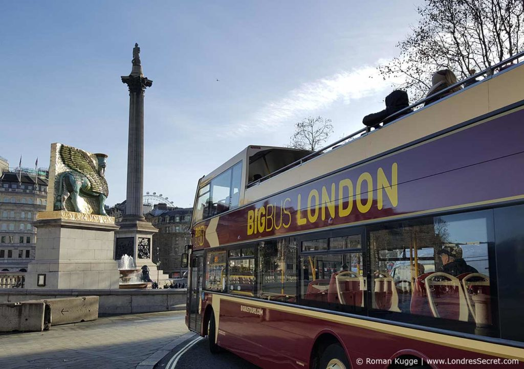 Bus touristique Hop On Hop Off Londres