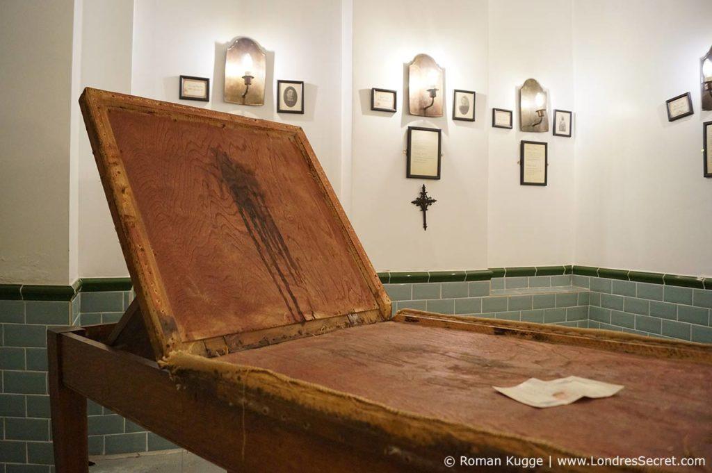 Musée Jack L'Éventreur Londres Morgue