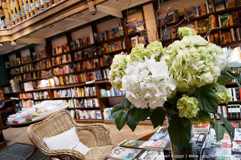 Daunt Books librairie Londres