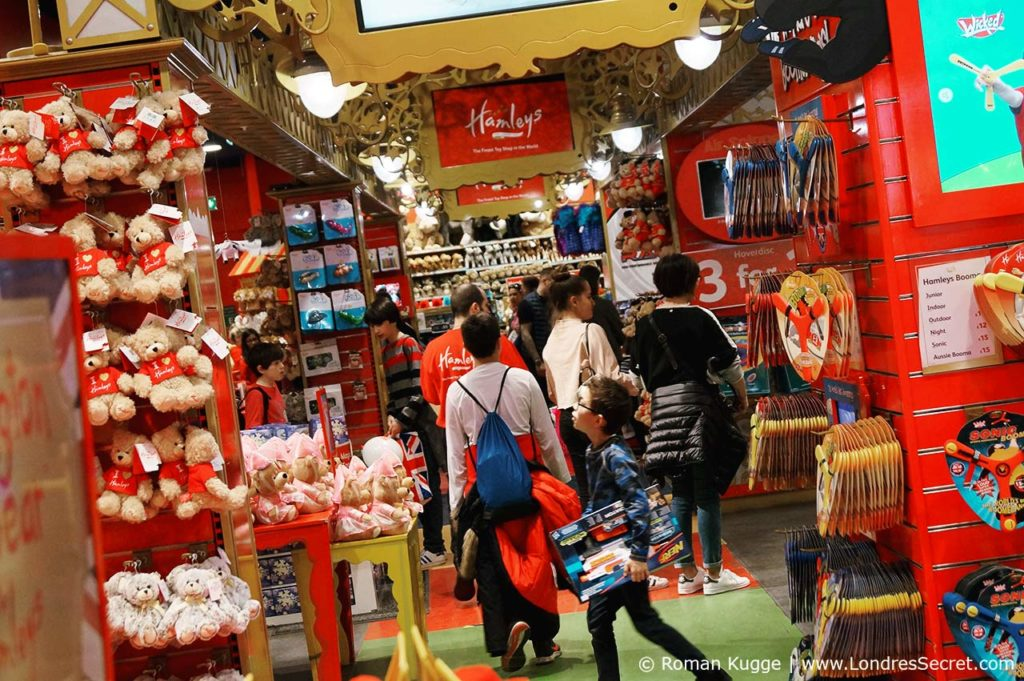 Hamleys Londres magasin de jouets
