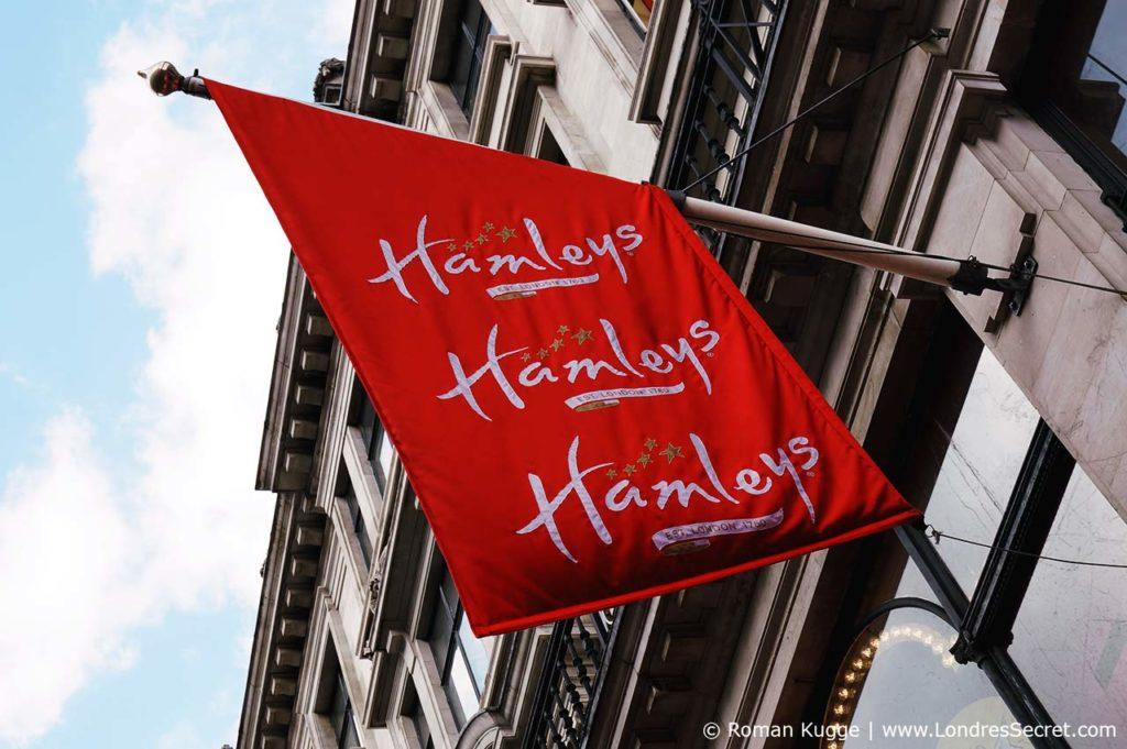 Hamleys Londres magasin de jouets