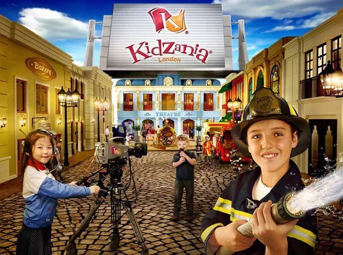 Kidzania Londres parc d'attractions pour enfants