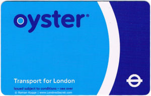 Oystercard Londres