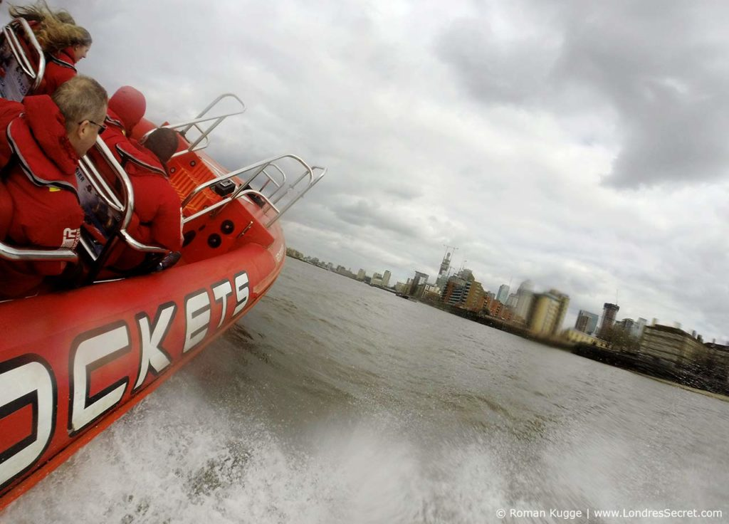 Speed Boat Hors-Bord Tamise Londres
