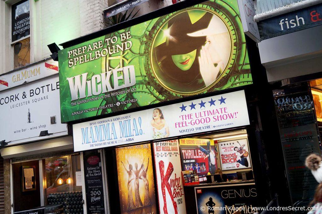 Wicked comédie musicale à Londres