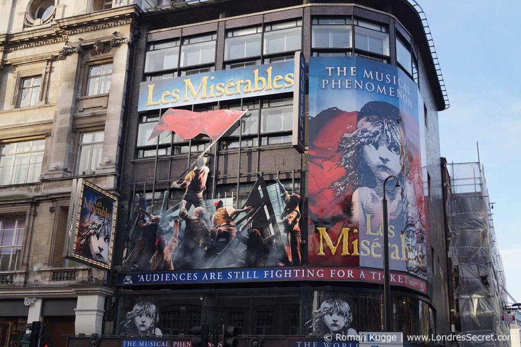 Comédie Musicale Les Misérables Londres