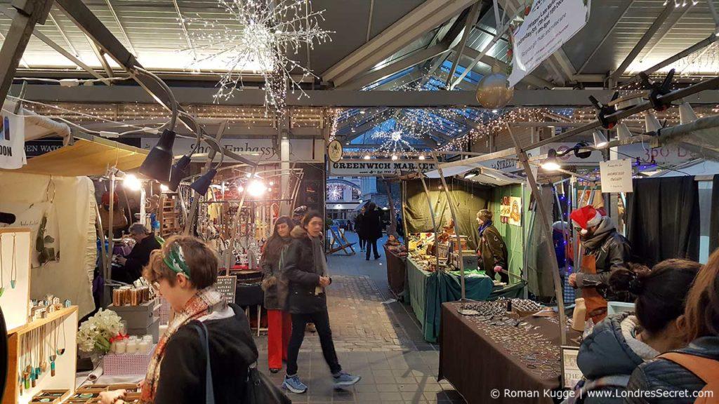 Marché Greenwich Market à Londres