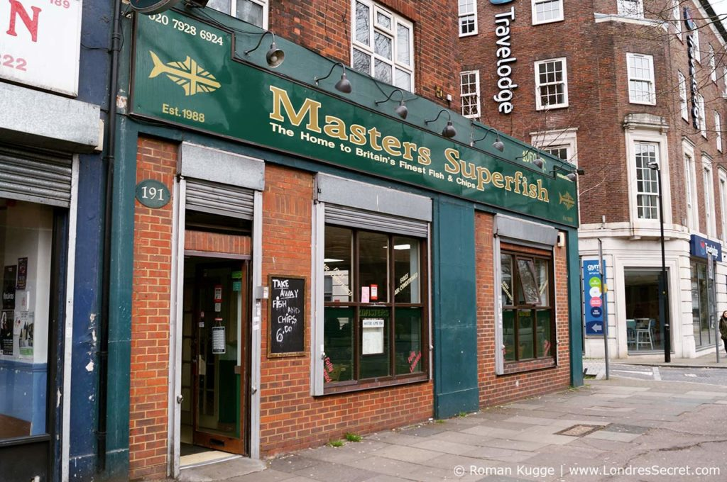 Masters Superfish Fish and Chips Londres
