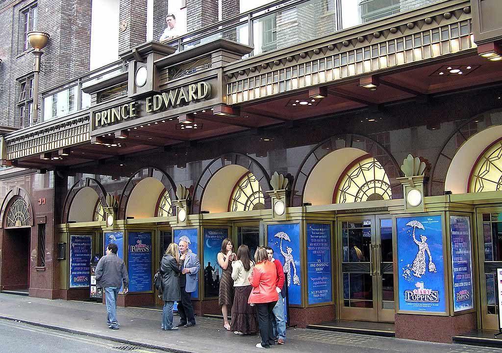 Prince Edward Theatre comédie musicale Aladdin Londres