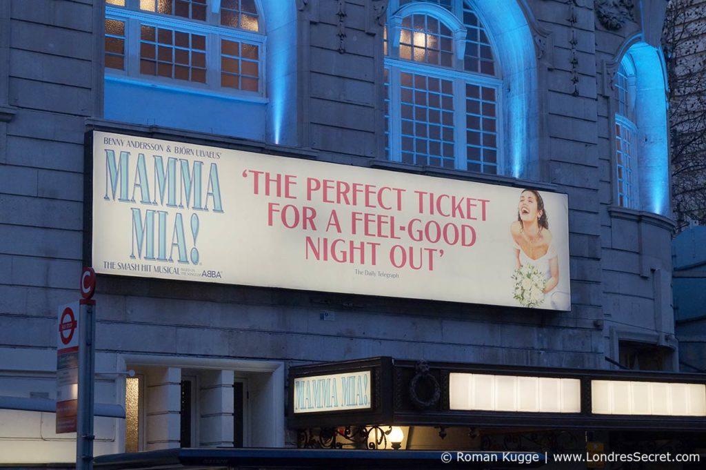 ABBA Mamma Mia à Londres