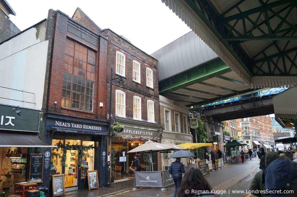 Borough Market Londres Chaudron Baveur Harry Potter