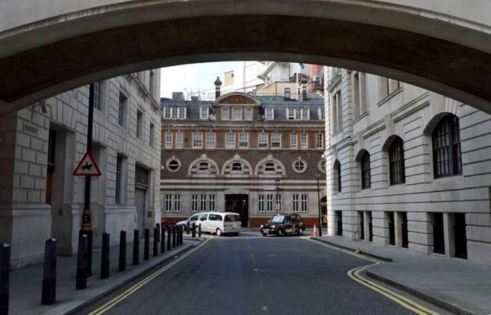 Great Scotland Yard Lieu de tournage Harry Potter